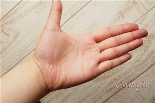 手の写真きれい色