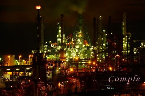 [レポ]北海道室蘭 工場夜景写真教室はすごいの撮れまくり!