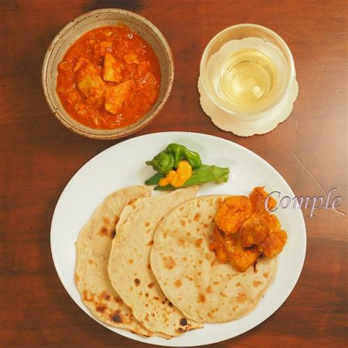作って撮れる料理写真カメラ教室インドカレー