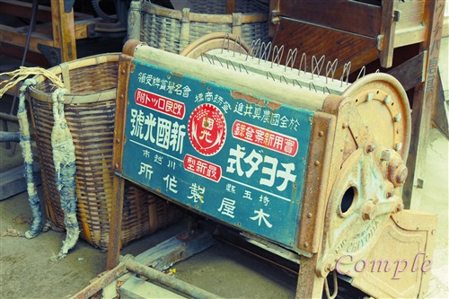 古い農工具