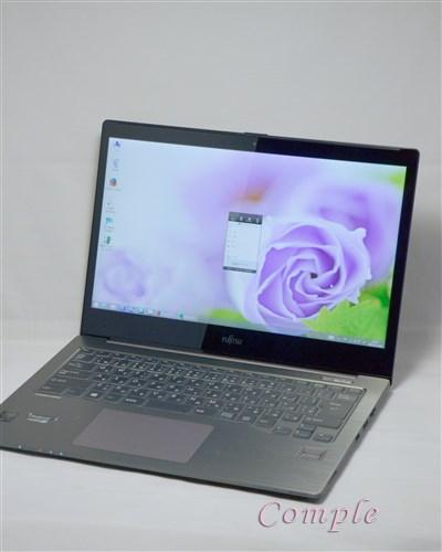 富士通 FMV UH90/Mは超高解像度のIGZOディスプレイで写真もきれい