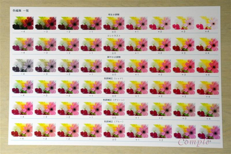 [レビュー]EPSONプリンターEP-976A3は色編集一覧印刷が色合わせに便利!