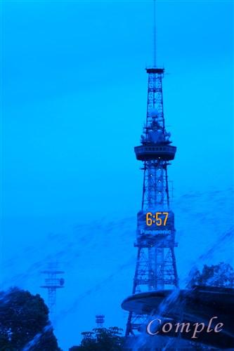 [レポ]北海道札幌 大通公園の夕景とさっぽろテレビ塔の夜景写真カメラ教室2015