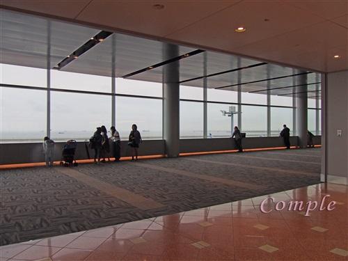 羽田空港第2ターミナル展望フロア