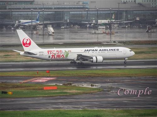 JAL行こう九州へ飛行機