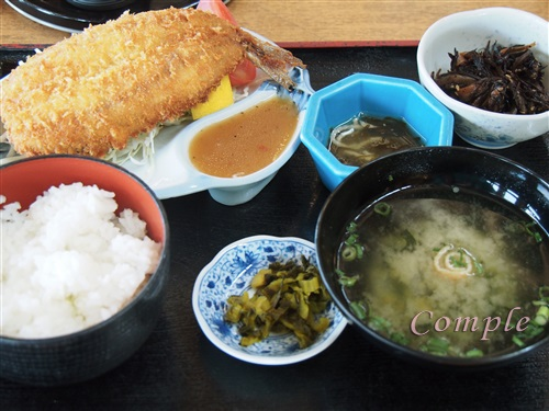 角島アジフライ定食