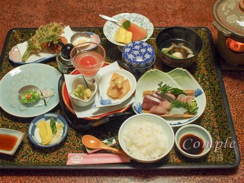 原田屋旅館の夕食