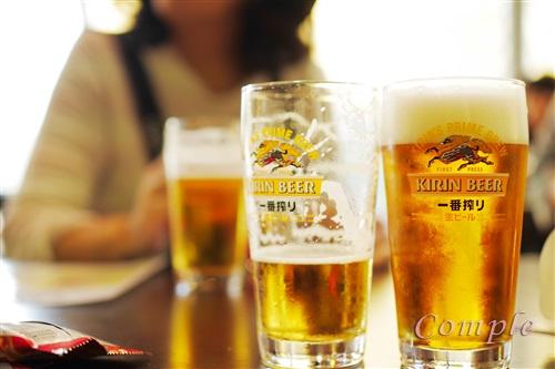 キリンビール横浜工場見学試飲