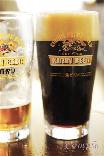 キリン一番搾り黒ビール