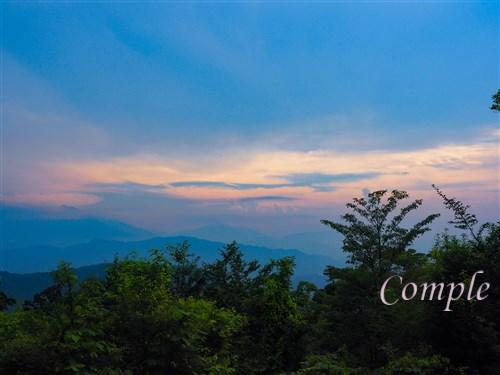 高尾山頂からの景色