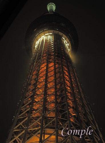 東京スカイツリー夜景写真カメラ教室