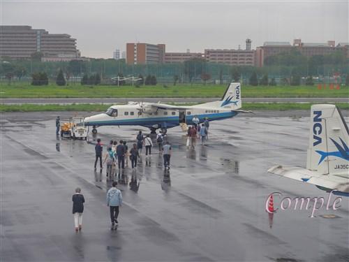 調布飛行場飛行機