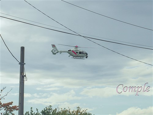 テレビ朝日のヘリコプター