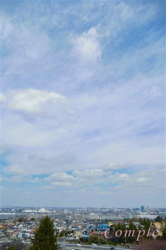 桜ヶ丘公園夕日の丘