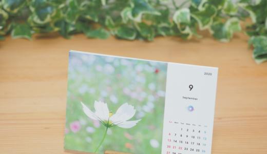 [販売中]2020年コンプルオリジナル花と風景写真カレンダー