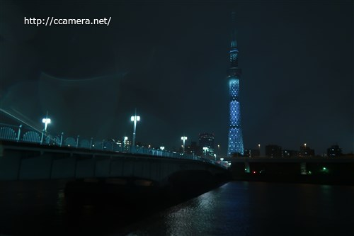 東京スカイツリー夜景カメラ教室