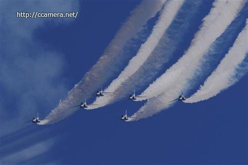 入間航空祭ブルーインパルス