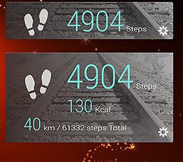 スマホの歩数計アプリで運動モチベーションアップ