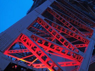 東京タワーの鉄骨