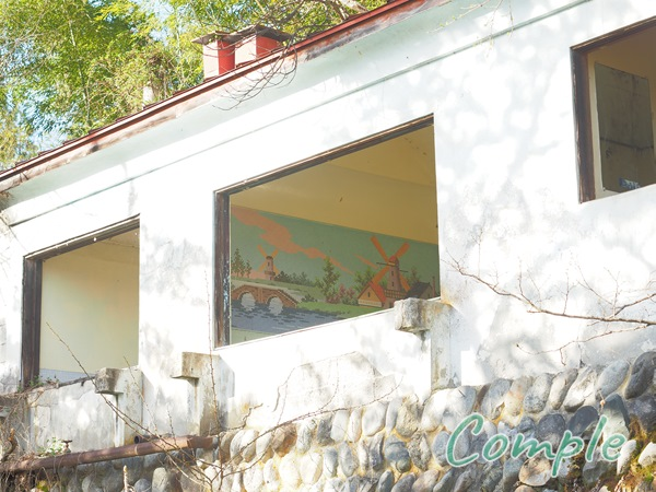 旅館の廃墟