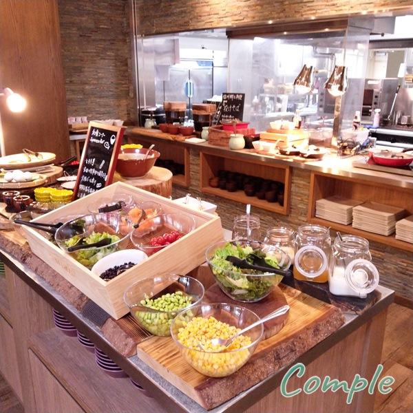 コートヤード・バイ・マリオット白馬ホテルのLAVAROCK朝食