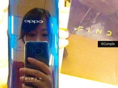 oppo Find Xスマートフォン