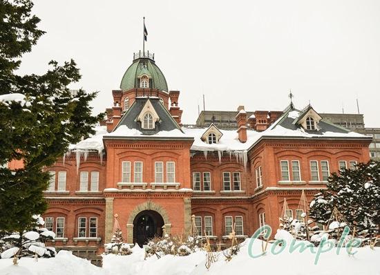 冬の旧北海道庁
