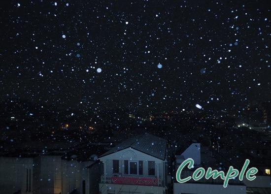 雪景色写真