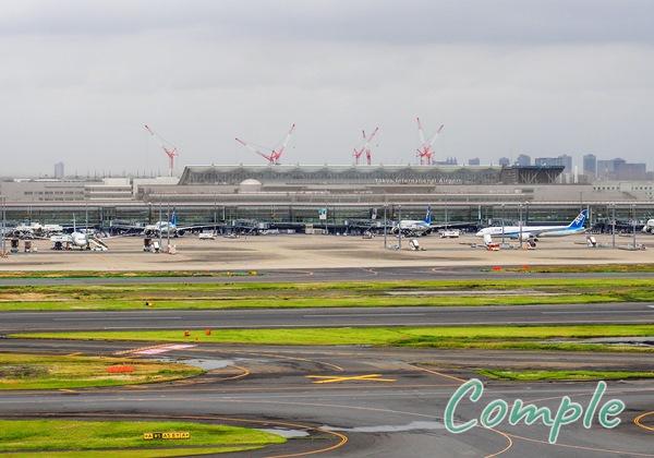 羽田空港のクレーン