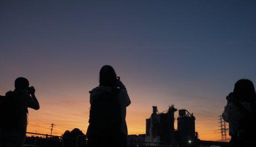 [受講者様の写真]調布花火大会と川崎工場夜景2019