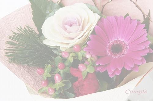 [終了]お年賀のお花壁紙画像プレゼント