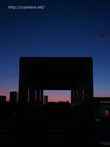 多摩センターの夕景